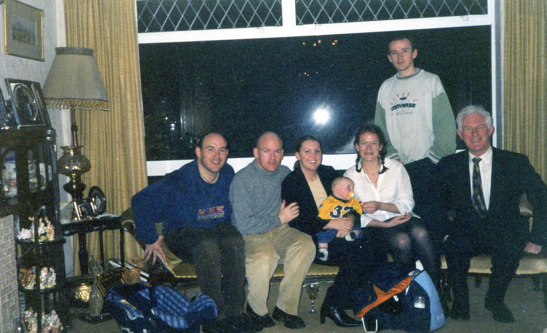 halloween 2002 – dylan murray katie keith aimee clive & dad | dylan