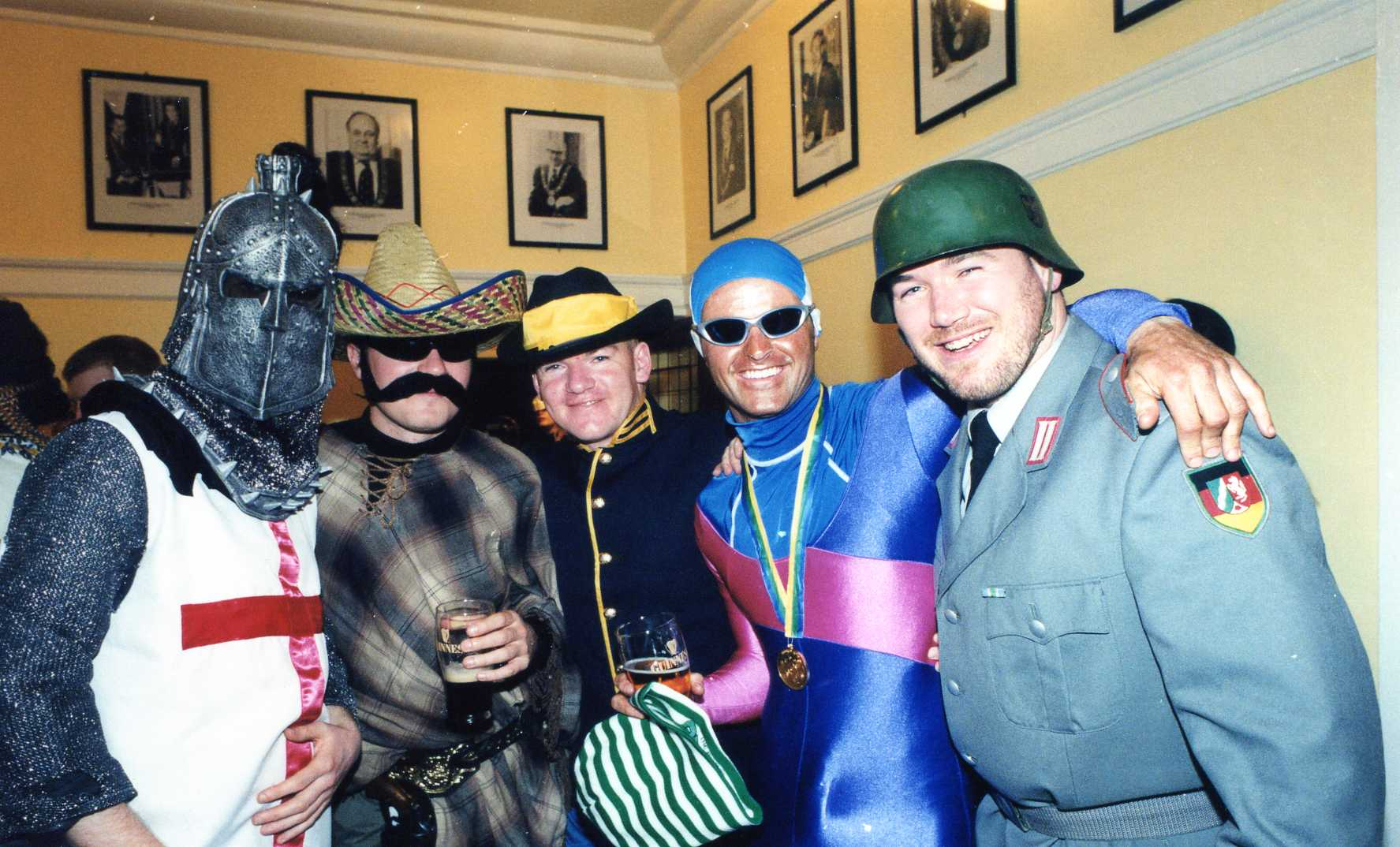 halloween party @ the mansion house october 2000 – mick gaffer
